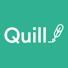 quill logo square with name