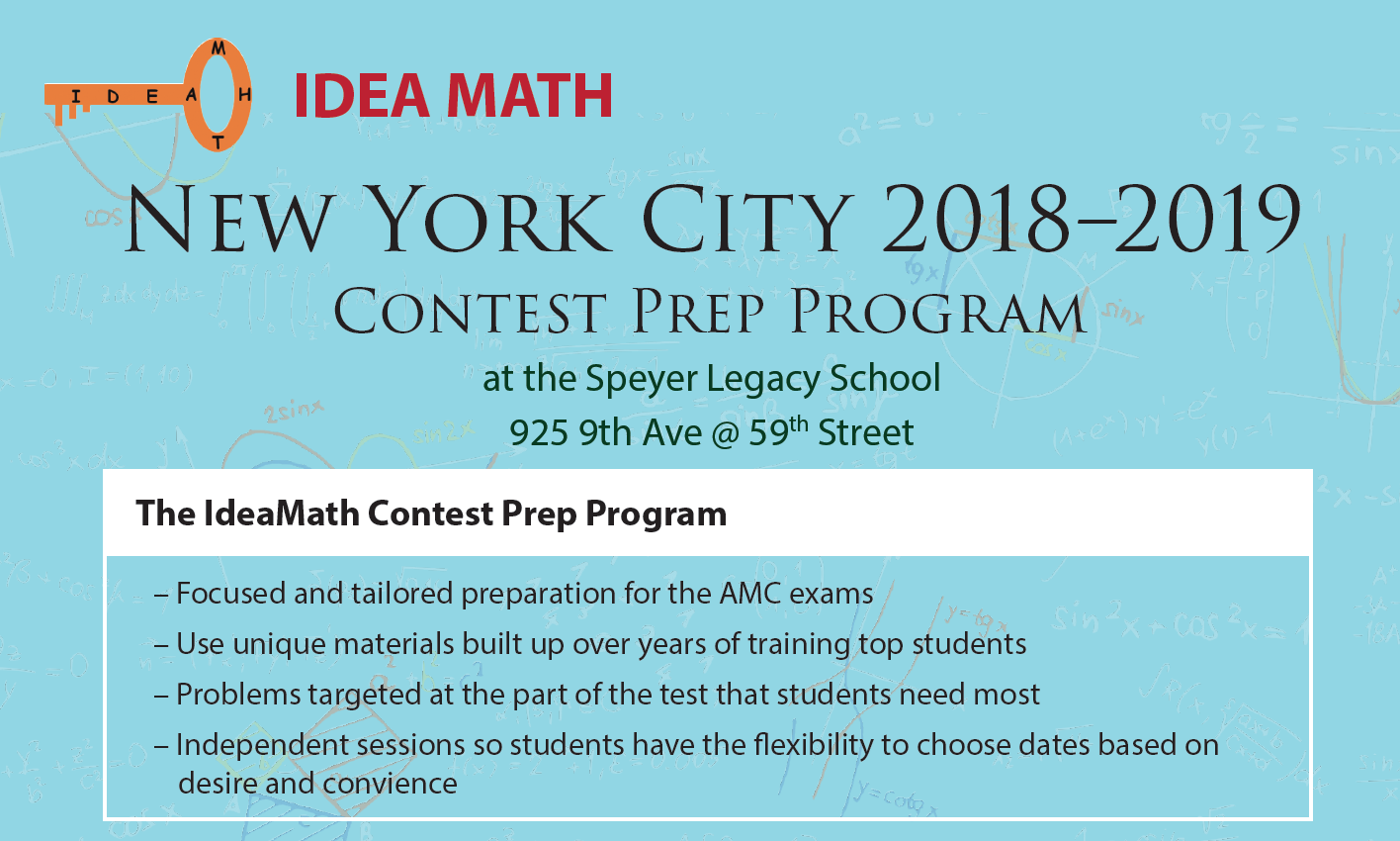 NYC AMC8 for High Fliers in Math – PALNYC
